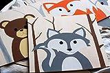 Handgemalte Holzbilder für Kinderzimmer