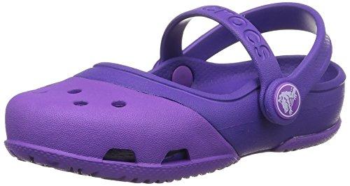 Crocs Electro II Mary Jane, Niñas Mary Jane, Violeta (Neon Purple/Ultraviolet), 19-20 EU