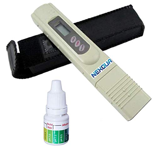 Nexqua Dew Digital LCD Tds Meter for RO Water Purifier filter water testing with Carrycase.Measures Tds/Temperature/Ppm (1 pcs)