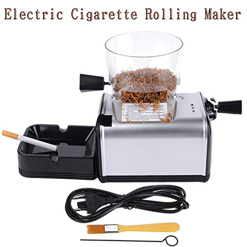 Vanell 8MM Tube Electric Cigarette Rolling Maker Automatic Cigarette Injector...