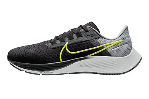 Nike Air Zoom Pegasus 38, Scarpe da Jogging Uomo, Dk Smoke Grey/Volt-Smoke Grey, 45.5 EU