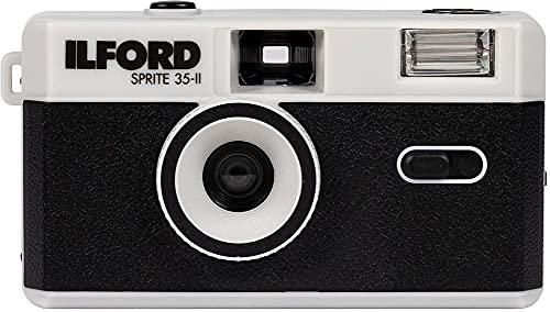 イルフォード スプライト 35mm フィルムカメラ ILFORD SPRITE35-II FILM CAMERA ブラック&シルバー