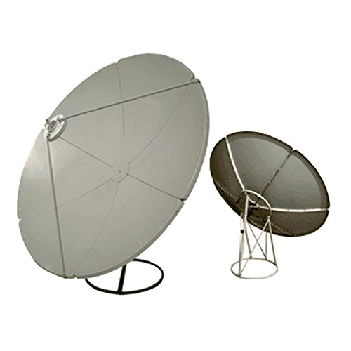 Homevision Technology Satellite Dish Digiwave 2.4 Meter Prime Focus Satellite Dish, Gray (DWD240T)