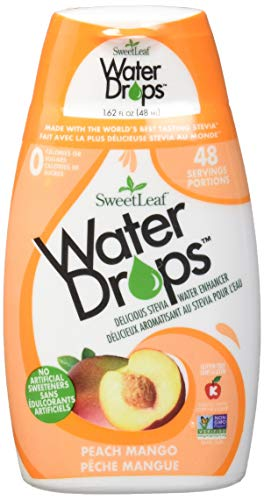 SweetLeaf WaterDrops, Peach Mango, 1.62 Ounce