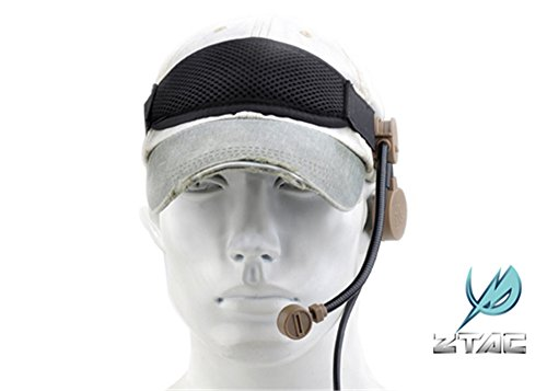 AIRSOFT Pro z-tactical Military Army Airsoft-Z043 ztea Cobra Tactical Headset DE