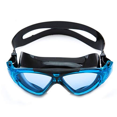 Lunettes De Plongée Équipement De Plongée HD Anti-buée Étanches Grand Format Transparentes pour Adultes Masques pour Hommes (Color : B)