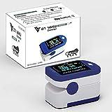 Dr Vaku Swadesi Finger Tip Pulse Oximeter, Multipurpose Digital Monitoring Pulse Meter Rate