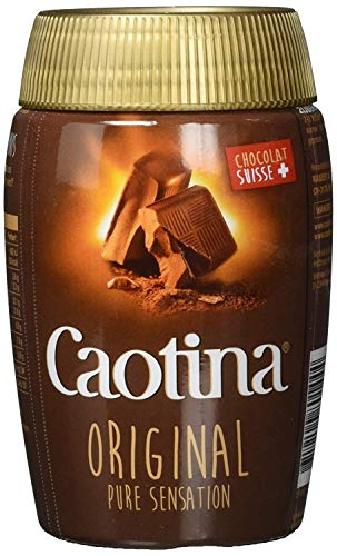 Caotina Qualite Swiss Premium Chocolate Drink Mix, 200g, Product of Switzerland {Imported from Canada}