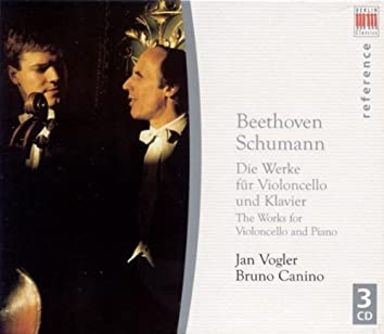Ludwig van Beethoven: Cello Sonatas and Variations / SCHUMANN, R.: Cello and Piano Works (Vogler, Canino)
