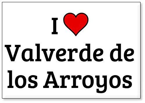 Mundus Souvenirs - Amo Valverde de los Arroyos, Imán para Nevera (diseño 1)
