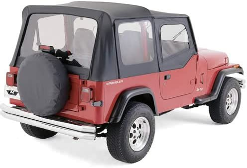 high quality Rampage outlet online sale R99717 Replacement Soft Top SPICE With Door Skins For sale 1997-06 Jeep Wrangler online