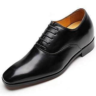CHAMARIPA Oxford Lace Business-Schuhe, Schwarz