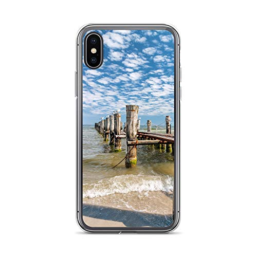 blitzversand Handyhülle OSTSEE Rostock kompatibel für Samsung Galaxy A3 2016 Anlegesteg Warnemünde Schutz Hülle Case Bumper transparent rund um Schutz M5