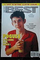 BEST 235 février 1988 POGUES RAP STORY Echo &the Bunnymen Silencers Sinead O\'Connr + POSTERS STEPHAN EICHER DEPECHE MODE