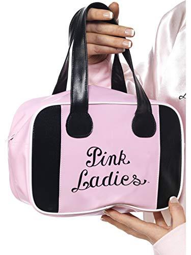 Luxuspiraten - Kostüm Accessoires Zubehör Damen Grease Pink Ladies Handtasche Bowling Tasche, perfekt für Karneval, Fasching und Fastnacht, Rosa