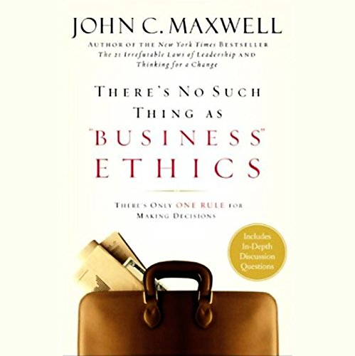 "There's No Such Thing as ""Business"" Ethics cover art"
