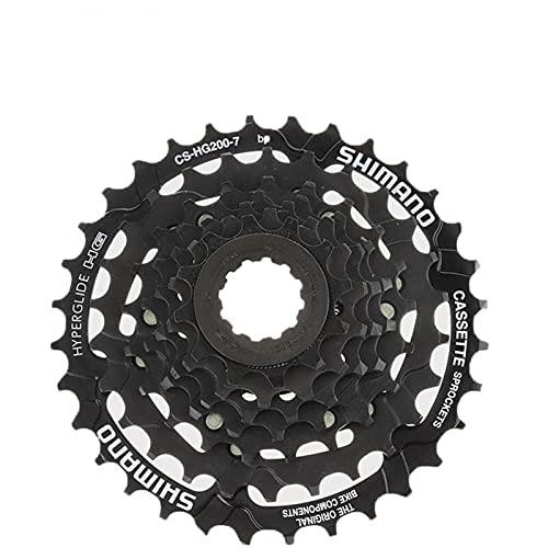 YOBAIH Rueda Libre 7 Velocidad 12-28T / 12-32T Cassette CS-HG200-7 para MTB Bicicleta de montaña Bicicleta Treeatmen de Superficie Resistente a la óxido (Color : 12 32T)