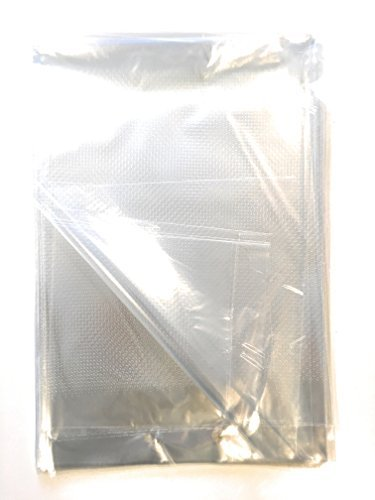 Produce keeper. Clear bags for fruits and veggies, Micro Perforated Bags 30 holes/inch, large 13x18, perfect for food storage. Bread and Veggie Bags. Reusable Set of 25.
