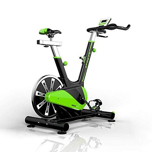 HEWEI Heimtrainer Intelligente Herzfrequenzmessung Home Gym Indoor Spinning Bike Professionelle Indoor-Sportgeräte mit großem Schwungrad Ultra-leises Heimtrainer