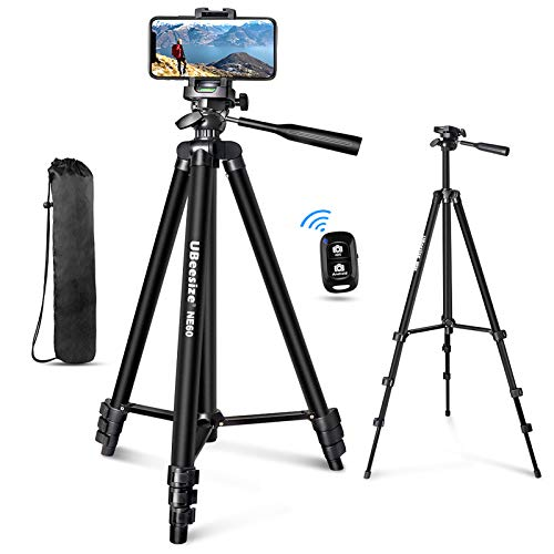 "UBeesize 60"" Phone Tripod with Ca…"
