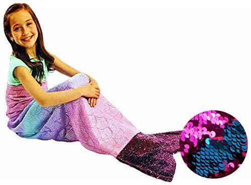 PLUSH & PLAYFUL『子ども用ブランケット Marmaid Tail』
