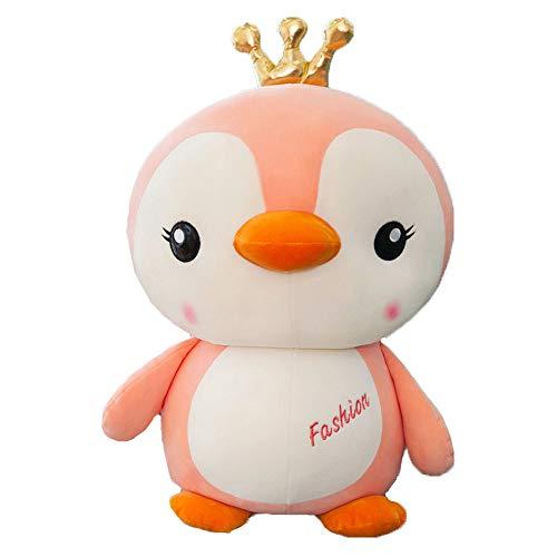 AGOOLZX Creativo Suave Disfraz pingüino Peluche Juguete muñeco de Dibujos Animados Lindo pingüino Peluche Animal muñeca casera Coche Peluche decoración Oficina Peluche cojín Regalo de los niños