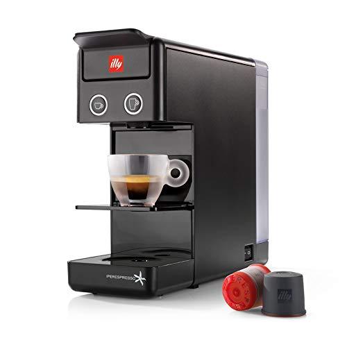 illy Kaffee, Kaffemaschine für Iperespresso Kapseln Y3.2 Schwarz