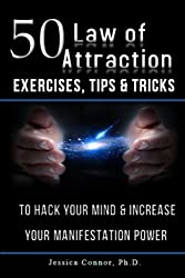 top 10 books on attraction 50 Exercises, Tips, and Tips on the Law of Attraction: Hack your mind and increase your manifestation