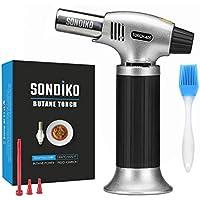 Sondiko Culinary Torch Refillable Kitchen Lighter Flame
