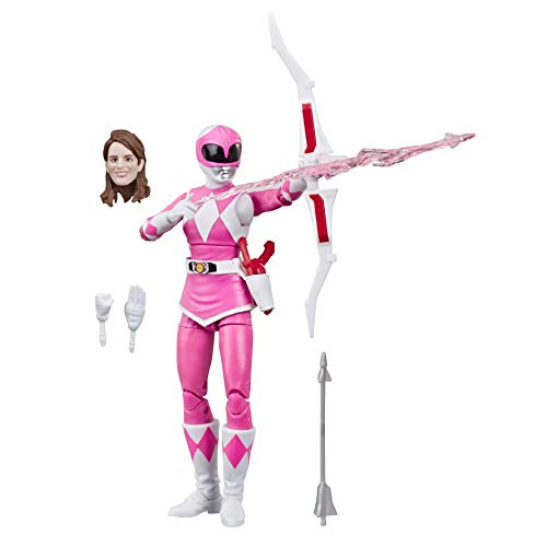 Power Rangers Lightning Collection – Mighty Morphin Pink Ranger de 15 cm – Figura de acción…