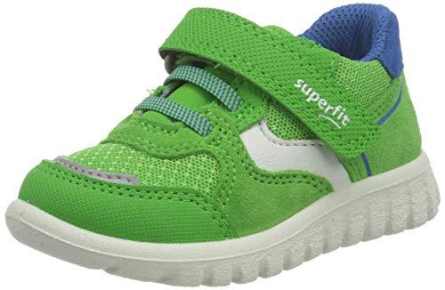 Superfit SPORT7 Mini Sneaker Lauflernschuh, GRÜN/BLAU, 20 EU