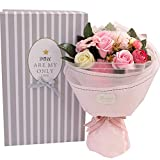 Tolyneil - Ramo de flores de jabón, decoración artesanal artificial, ramo de rosas, regalo creativo de San Valentín
