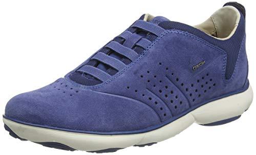 Geox Herren U Nebula a Sneaker, Blau (Jeans C4001), 45 EU