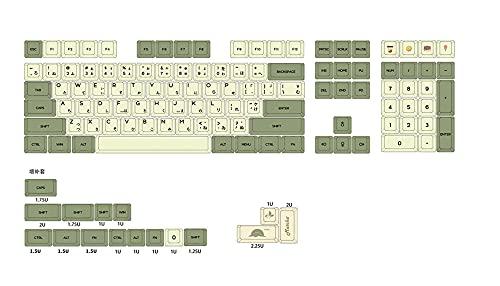 MMBH - Juego de llaves de vaso de té verde (104 teclas, Xd64, Bm60, Xd68, Xd84, Xd96, para cuaderno, color