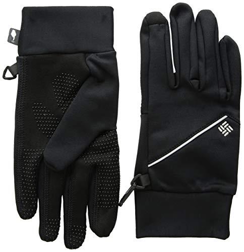 Columbia M Trail Summit Running Glove Guantes, Hombre, Negro, Talla M