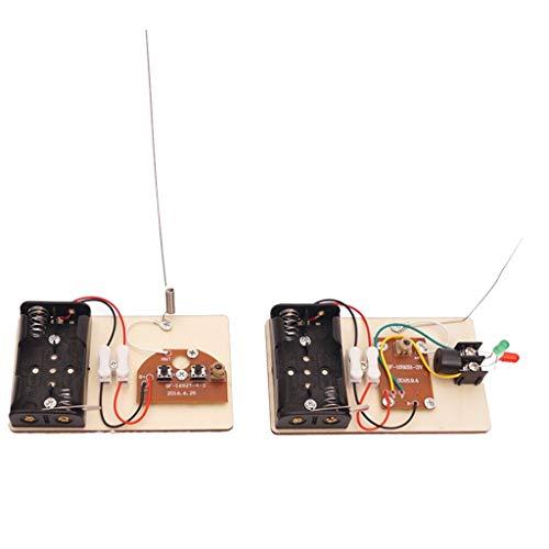 Holz DIY Balsten Maschine Wissenschaft Experimente Pädagogische Spielzeug, verschiedene Lernspiele - Telegraf
