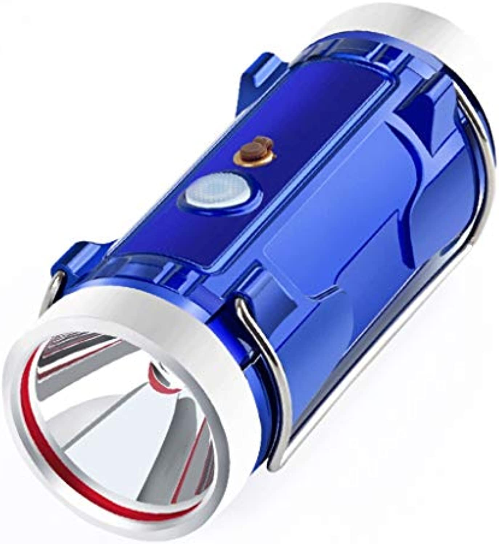 YROD light Angeln Lampe, Multi Funktion Doppelt Lichtquellen Nacht Fischen Laterne Notfall Suchscheinwerfer Wasserdicht IPX7 Taschenlampe Wei Blau Licht (Farbe   B)