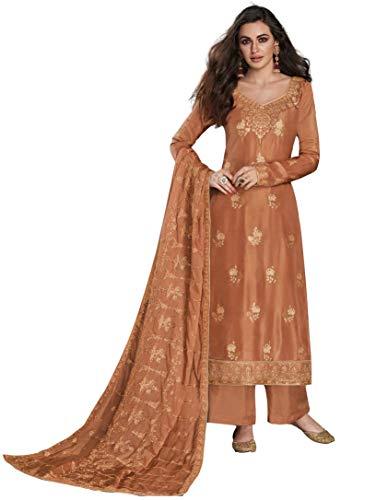 San Valentín especial exclusivo indio mujeres traje tradicional semi cosido Salwar s10