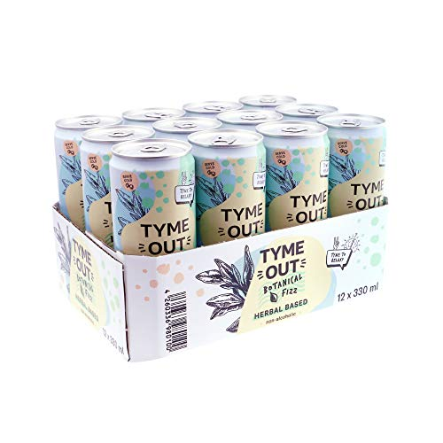 Tyme Out Botanical Fizz Alkoholfrei (12 x 0.33 l)