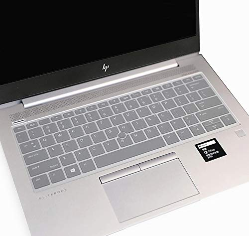 Ultra Thin Silicone Clear Keyboard Cover Skin Compatible with 13.3 inch HP EliteBook 735 G5 & HP Eli - http://coolthings.us