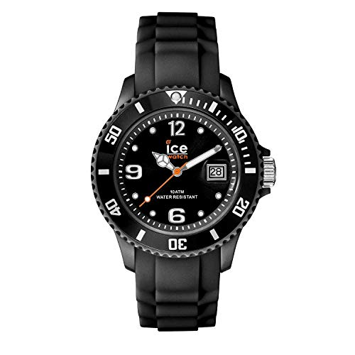Ice-Watch - ICE forever Black - Men's (Unisex) wristwatch with silicon strap - 000133 (Medium)