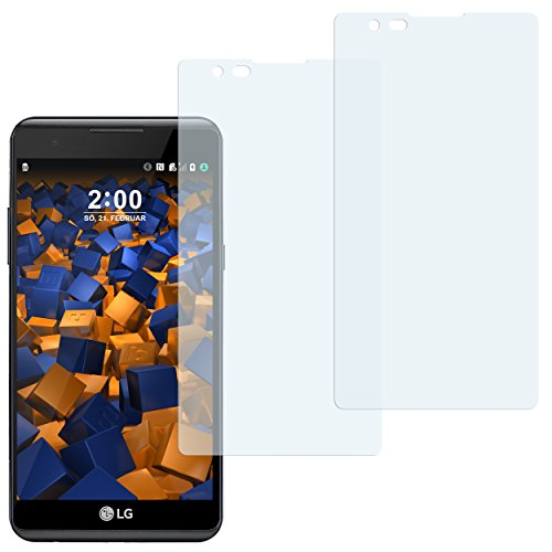 mumbi Schutzfolie kompatibel mit LG X Power Folie klar, Bildschirmschutzfolie (2X)