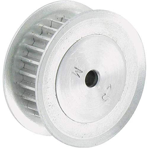 Aluminium Zahnriemenscheibe Reely Bohrungs-Ø: 6 mm Durchmesser: 26 mm Anzahl Zähne: 30