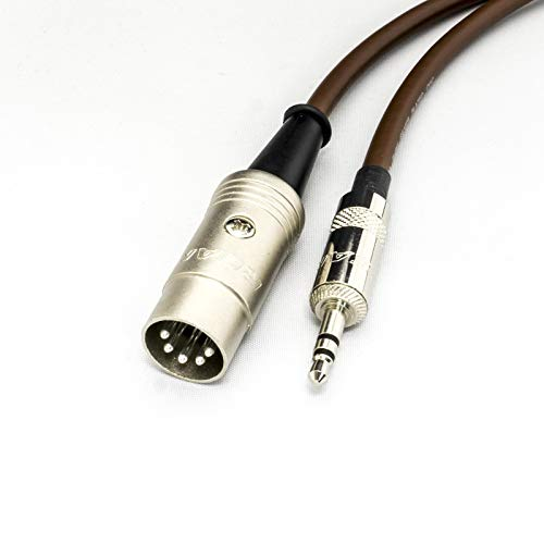 KORG Electribe 2 & SQ-1 MIDI sobre cable mini jack. Cable TRS de 3,5 mm a DIN.