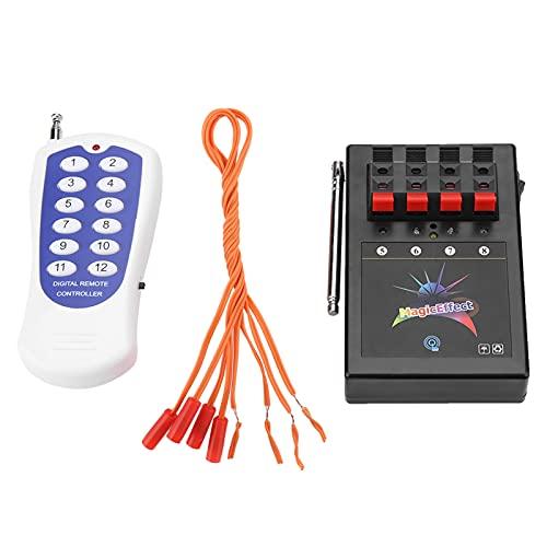 Feu d'artifice sans fil, 12 canaux de qualité professionnelle, système d'allumage sans fil, télécommande