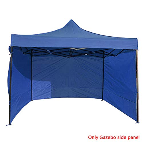 Canopy Tent Panel, 3 * 3M Popup Canopy Tent Side Panel Outdoor Tent Accessories, Anti-UV Oxford Cloth Sidewall Canopies Commercial Tents Market Stall Gazebo Side Panel