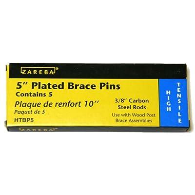 Zareba 5-Inch Galvanized Brace Pin