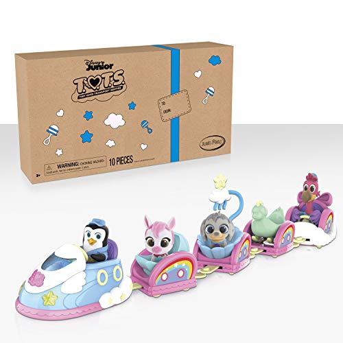 Disney Jr T.O.T.S. Chugga Chugga Choo-Choo Playset & Bonus Figures - Amazon Exclusive
