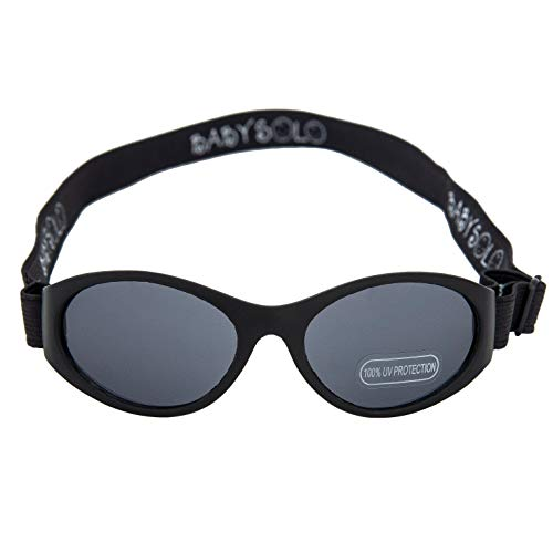 Product Image of the Baby Solo Original 2.0 Baby Sunglasses Safe, Soft, Super Adjustable and Adorable...