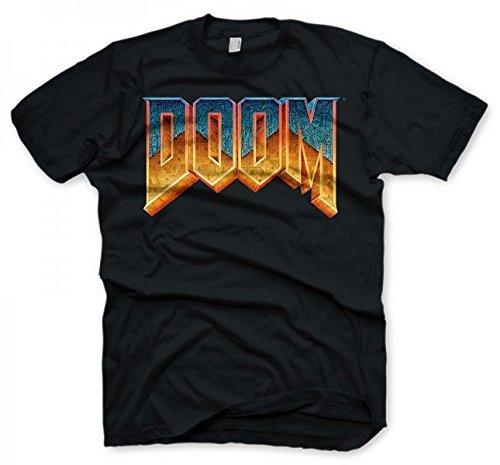 Doom T-Shirt - Logo, Size Xl [Importación Alemana]